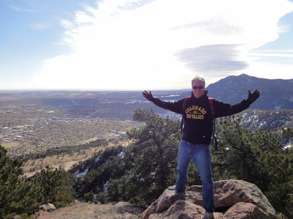 Mount Sanitas Boulder Colorado Homes And Hiking