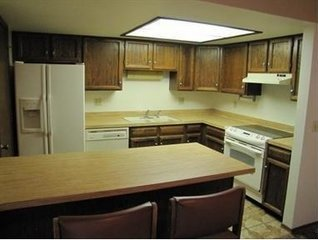 Kitchen Drop Ceiling Remodel. Flourescent Lights Removed And ...