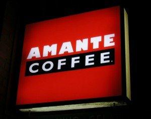 coffee shop row amante