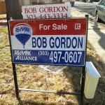 Boulder Real Estate News Bob Gordon sign