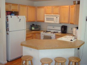 Boulder real estate inspection clean kitchen ready for home inspection in Boulder Colorado