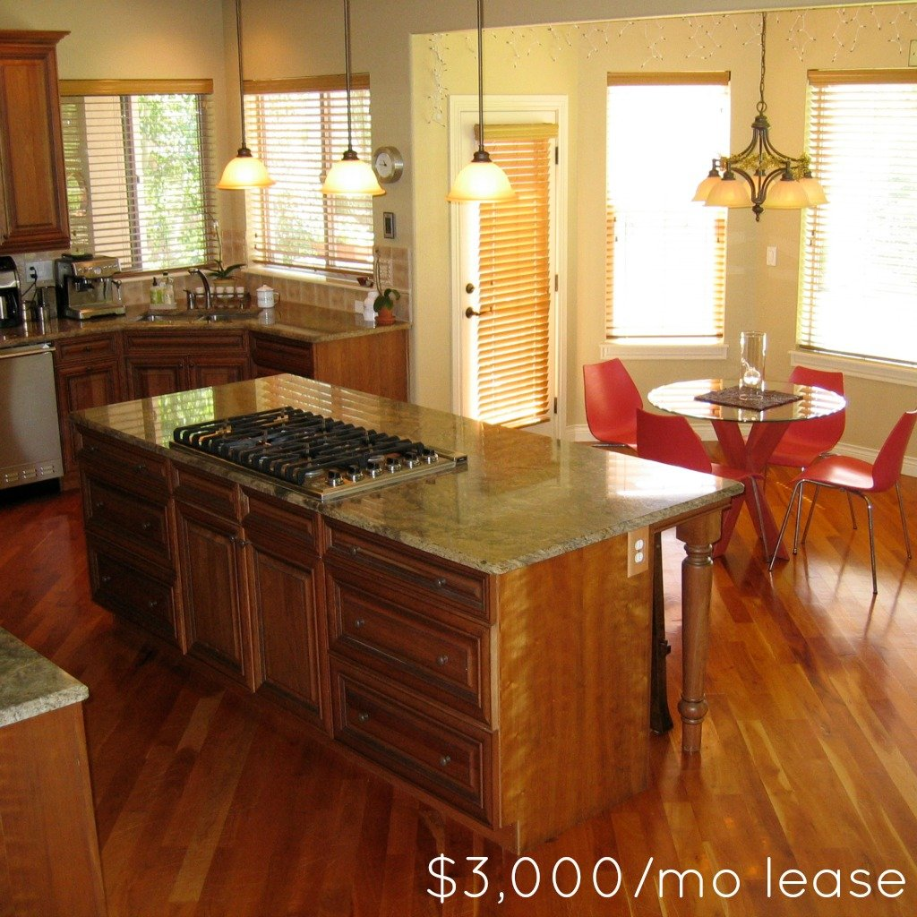 Luxury Home Kitchens: Want Luxury Home At Affordable Rental Point