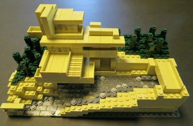 Fallingwater inspired boulder realtor boulder real estate news - Falling waters lego ...