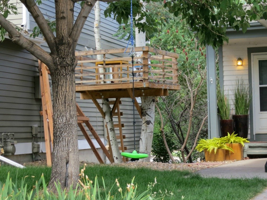 Remodeling ideas boulder real estate news for Simple tree fort ideas