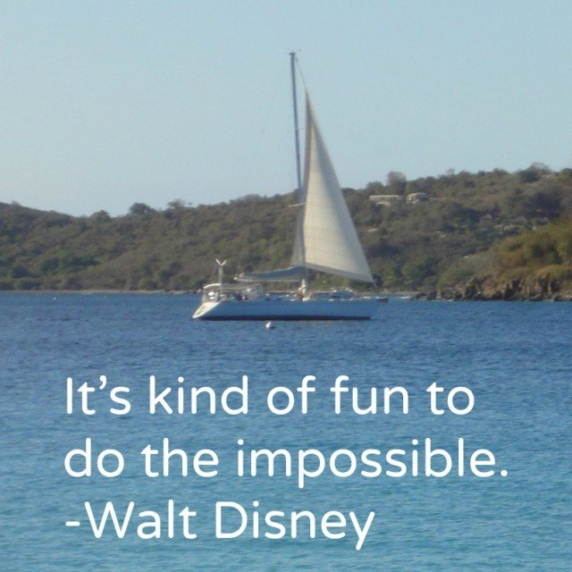 its kind of fun to do the impossible