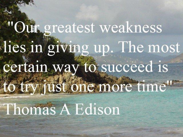 beach quote Thomas Edison