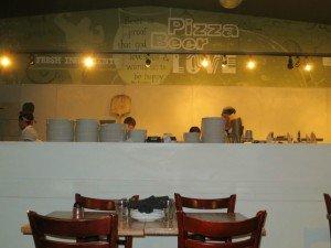 Lucky Pie kitchen, # 2 on the Boulder Top 10 Italian Bistros list