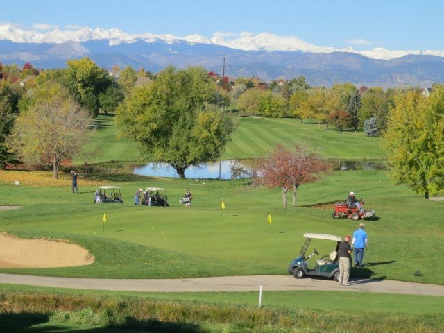 Indian Peaks is on of the area golf courses in Louisville Lafayette Superior