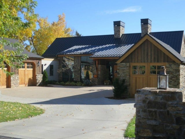 Blogging every day, I take a lot of photographs, like this one of a beautiful home in Boulder Colorado