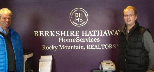 Berkshire Hathaway HomeServices College Intern Scott Rahe and realtor bob gordon