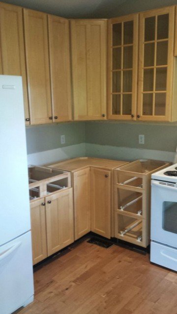 Kitchen Remodel Using Thrifted Cabinets Boulder Real