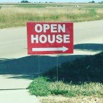 a consumer open house sign in longmont colorado
