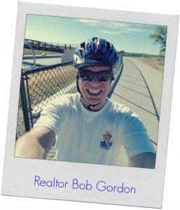 realtor bob gordon on bike in boulder