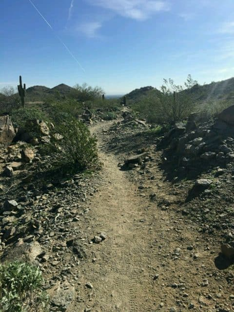 path along north mountain phoenix arizona