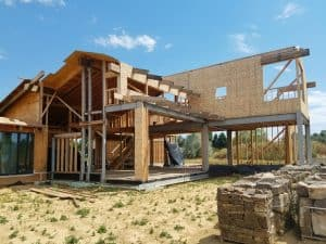 Home under Construction in Boulder