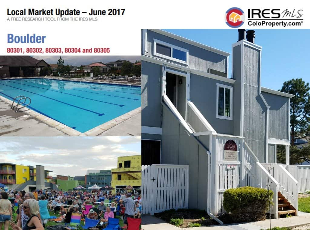 Local Market Tool >> Boulder Local Market Update June 2017 Boulder Real Estate News
