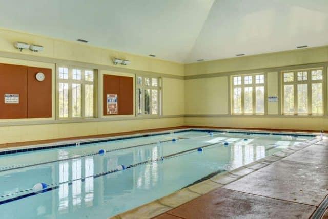 indoor lap pool broadlands