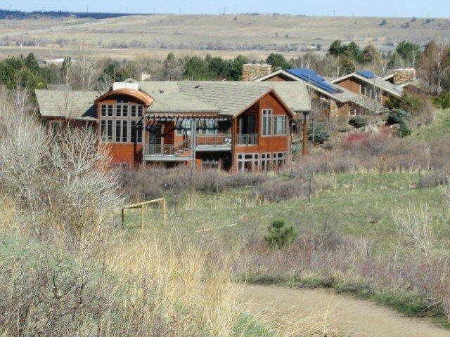 bear canyon boulder colorado trail and housing