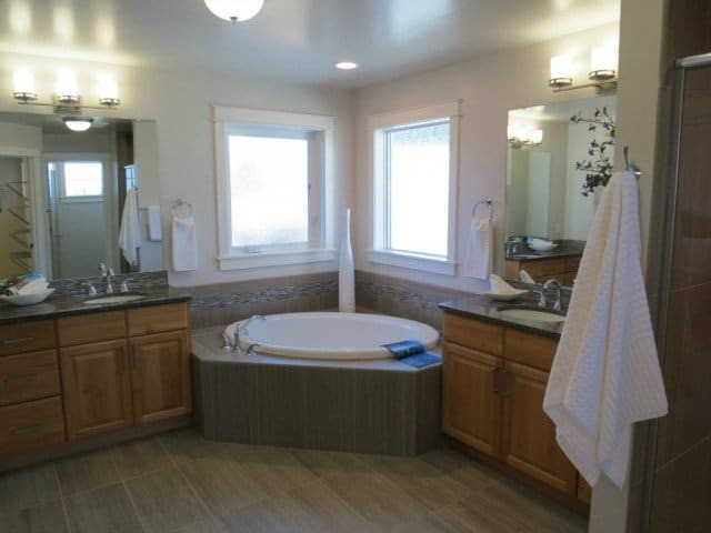 beautiful bathrooms in new homes for sale in boulder co built by markel construction