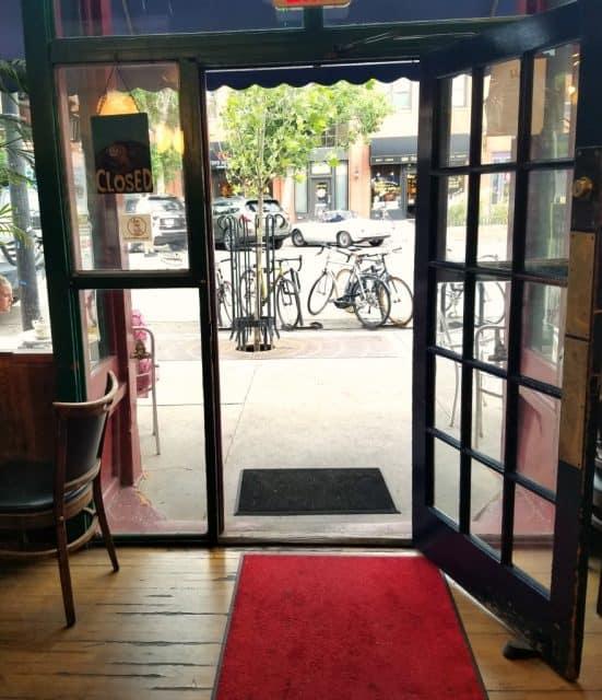 front door trident cafe