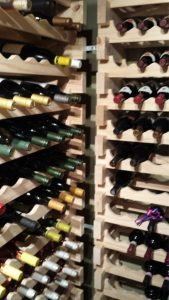 beautiful colorado home wine cellar
